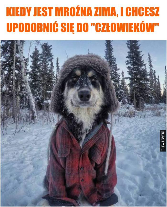 Kiedy jest mroźna zima