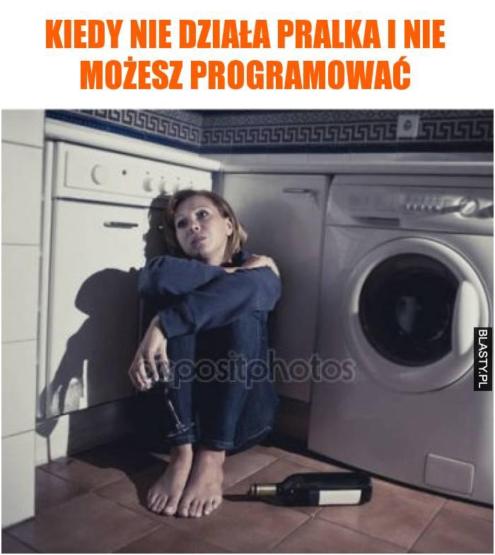 Kiedy nie działa pralka i nie możesz programować