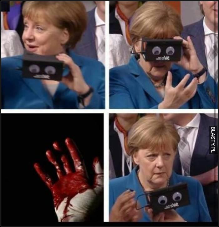 Krew ludzka na jej rękach