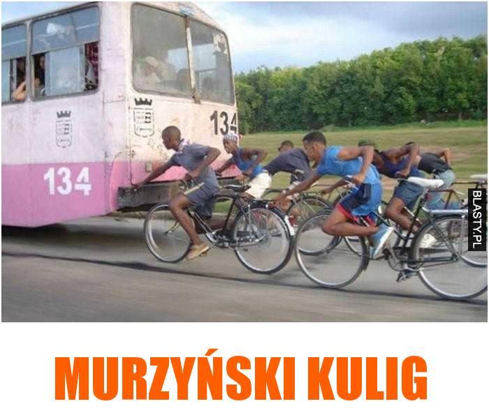 murzyński kulig