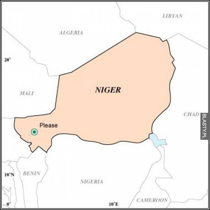 Niger please