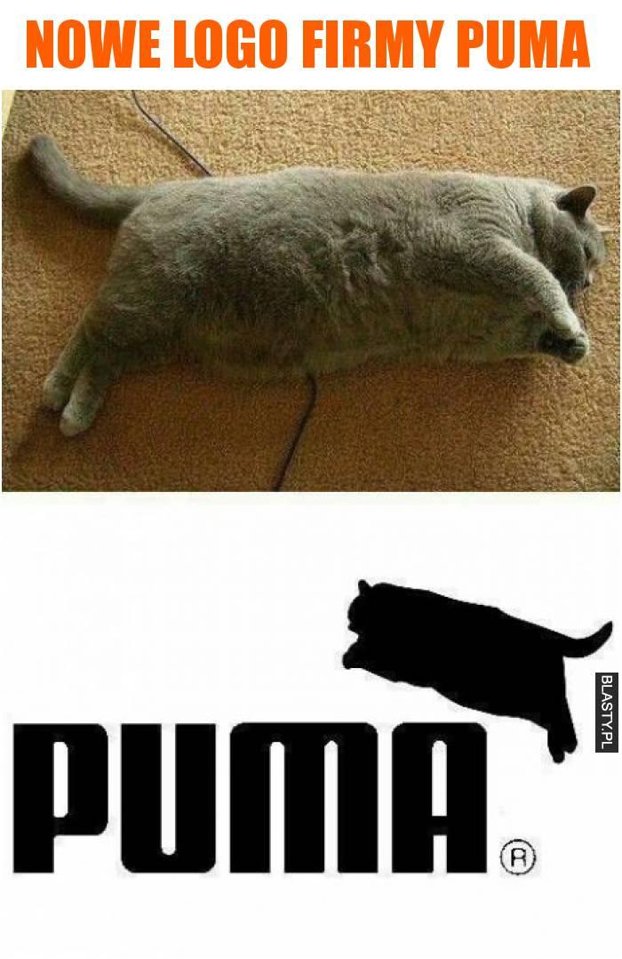 Nowe logo firmy Puma
