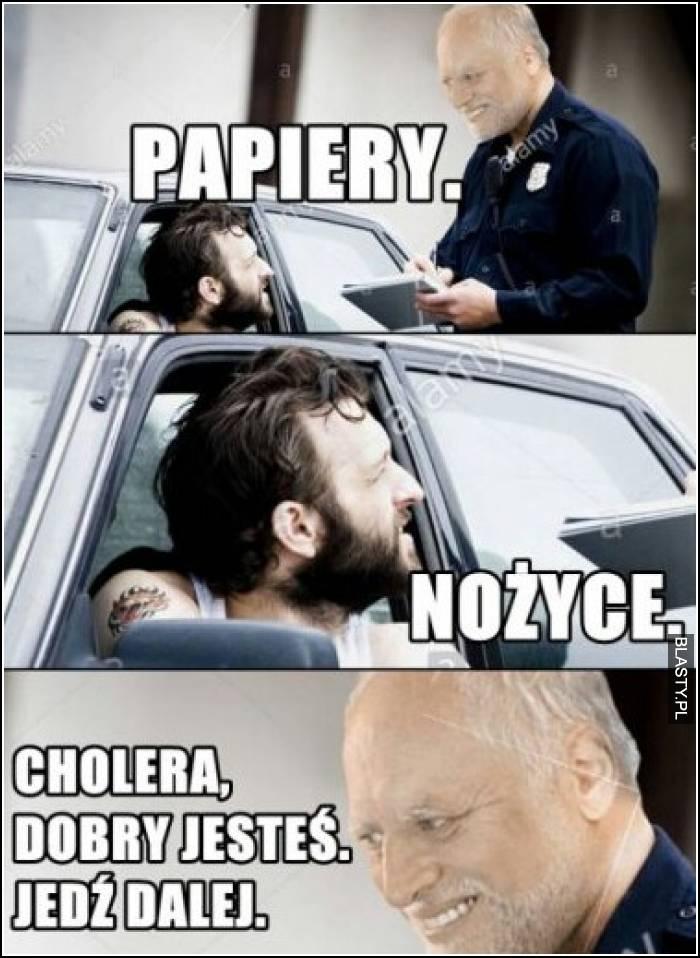 Papiery - nożyce