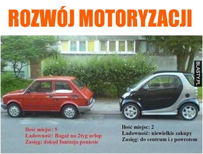 Rozwój motoryzacji