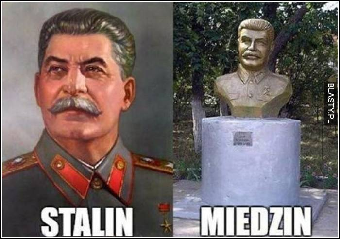 Stalin miedzin