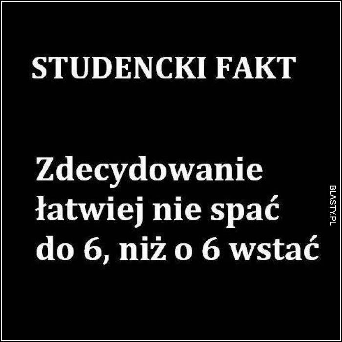 Studencki fakt