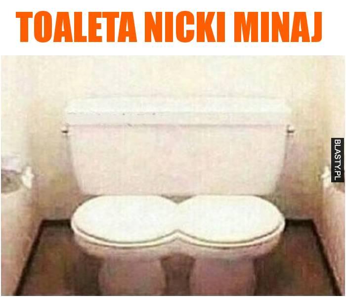 Toaleta Nicki Minaj