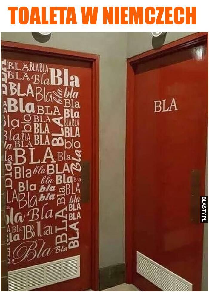 Toaleta w Niemczech