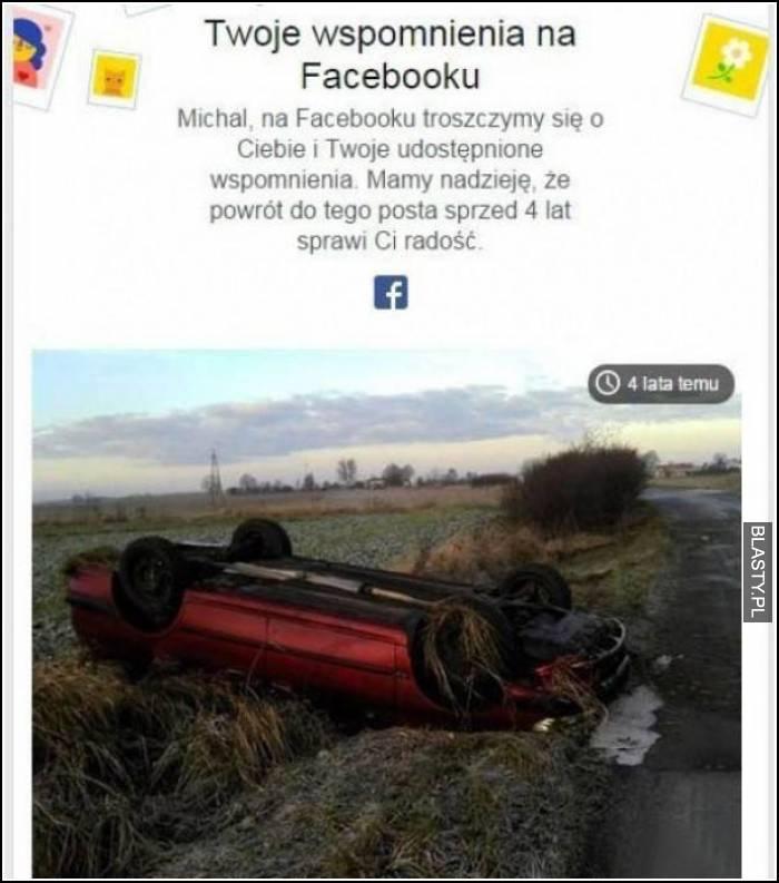 Twoje wspomnienia na facebooku