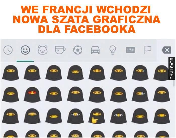 we Francji wchodzi nowa szata graficzna dla facebooka