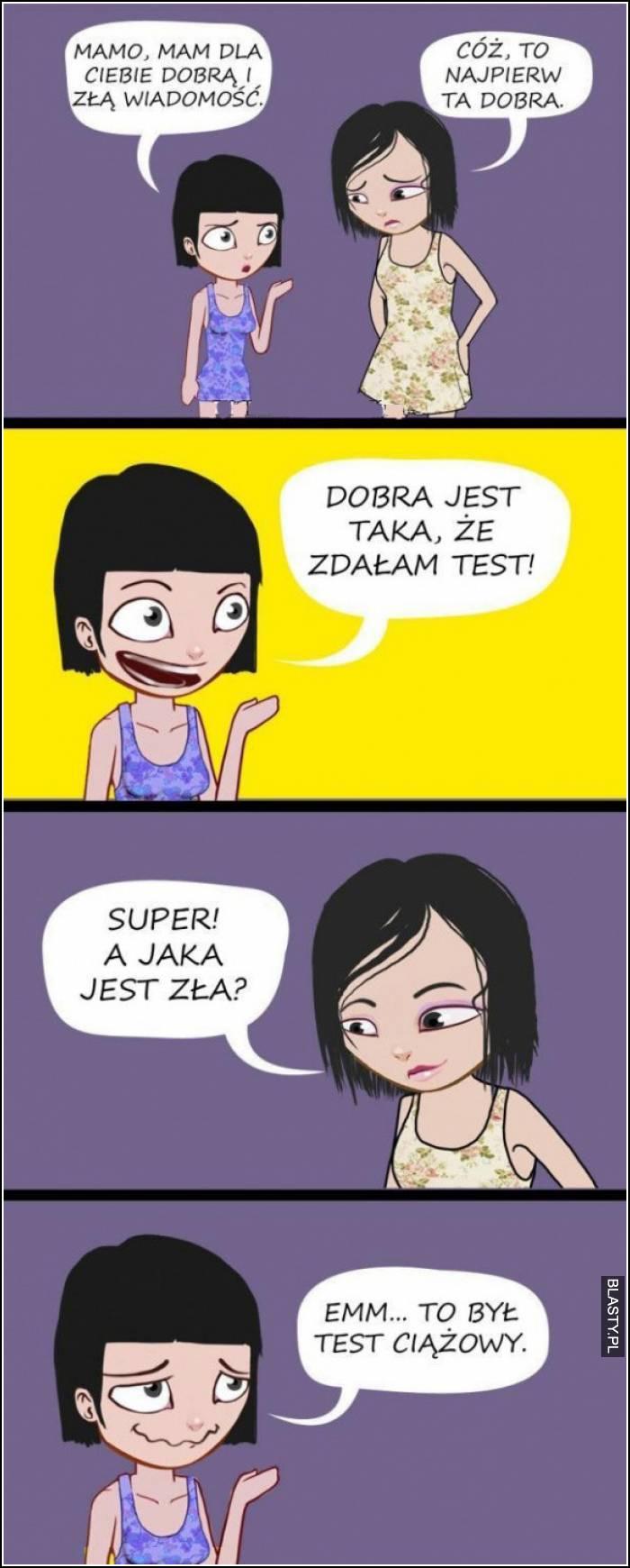 zdała egzaminy