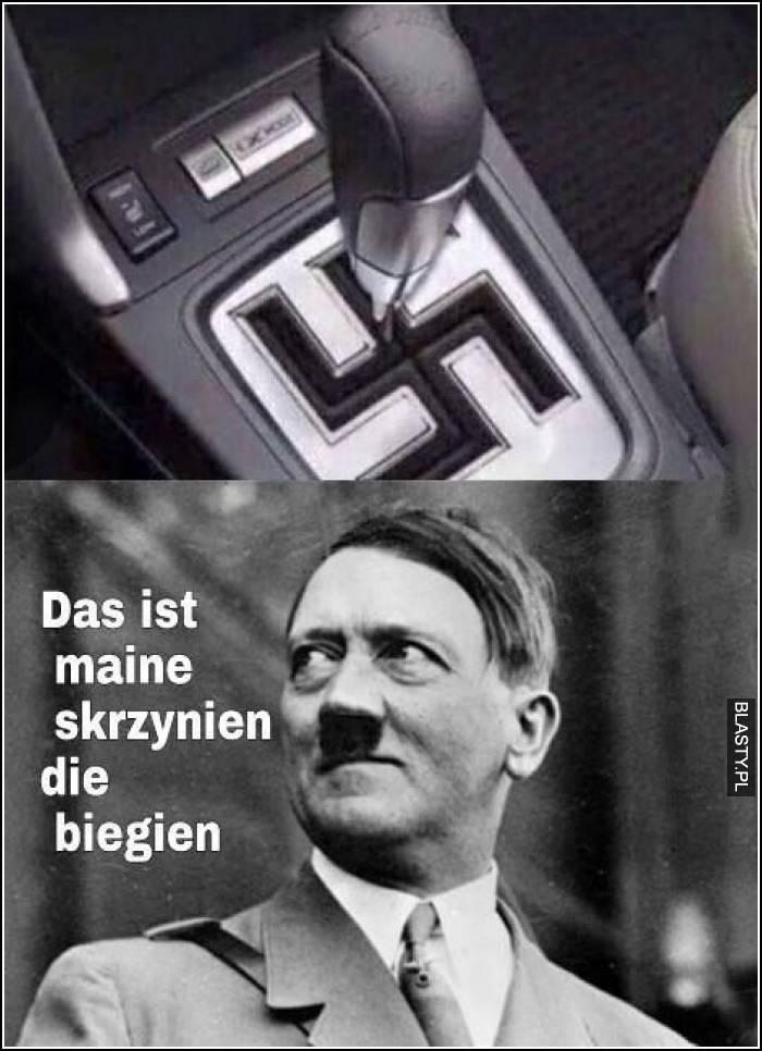 Adolf hitler skrzynia biegów