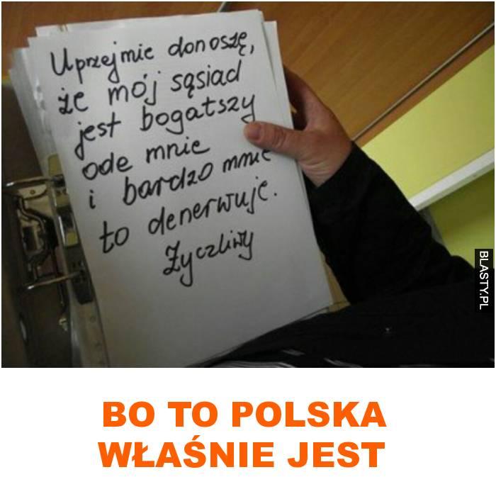 bo to polska właśnie jest