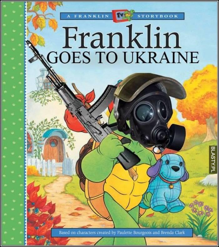 Franklin goes to ukraine