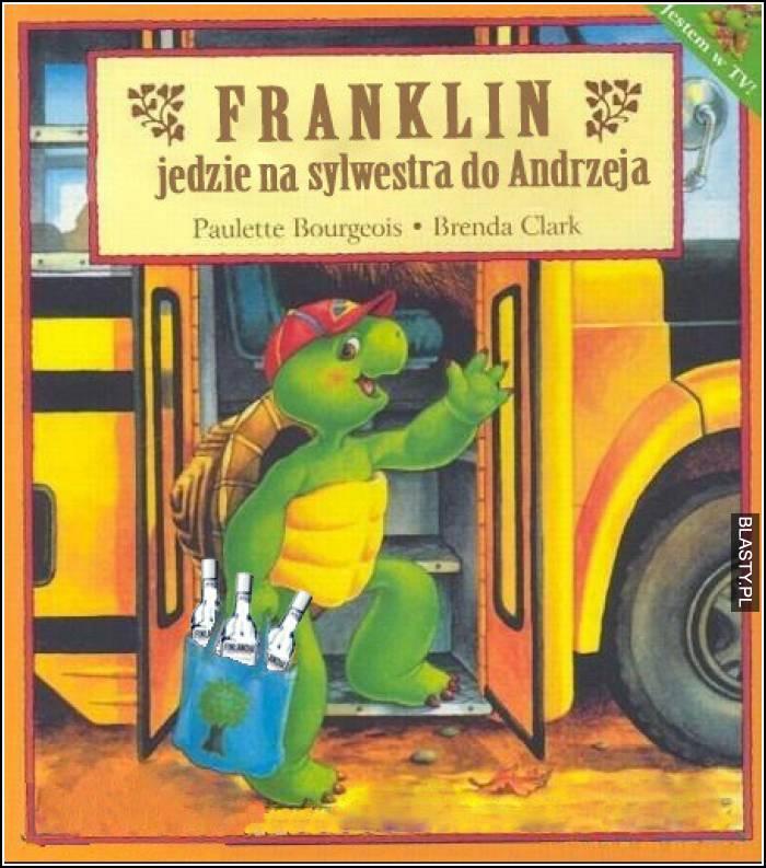Franklin jedzie na sylwestra do andrzeja