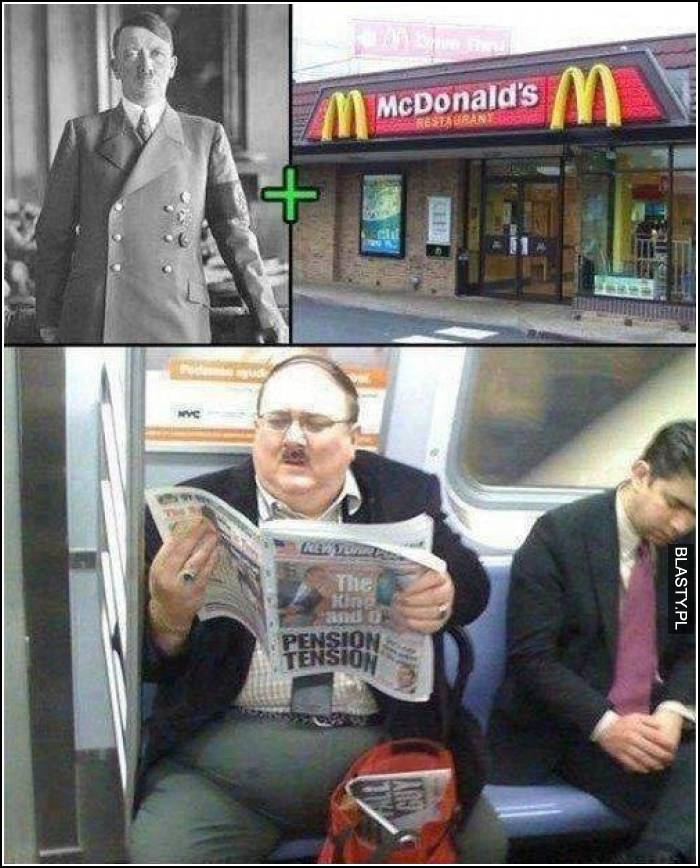 hitler plus mcdonalds