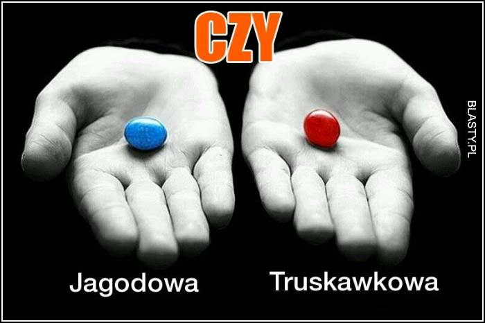 jagodowa czy truskawkowa