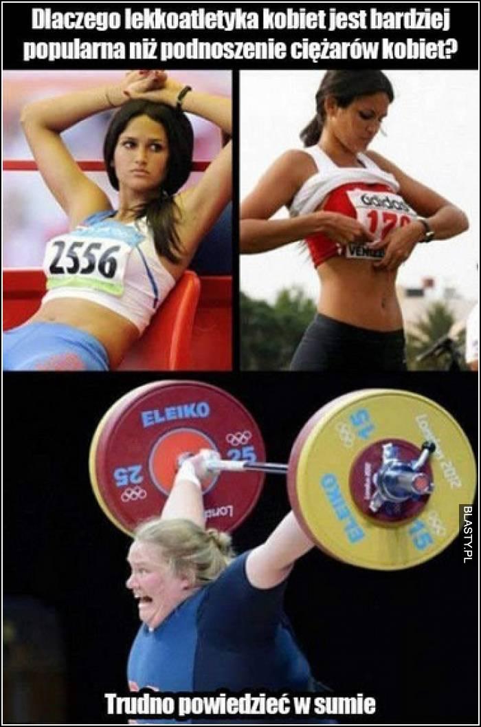 lekkoatletyka u kobiet