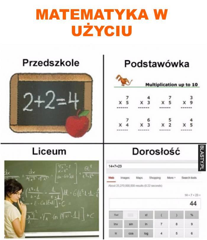 matematyka w użyciu