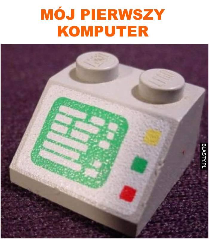 mój pierwszy komputer