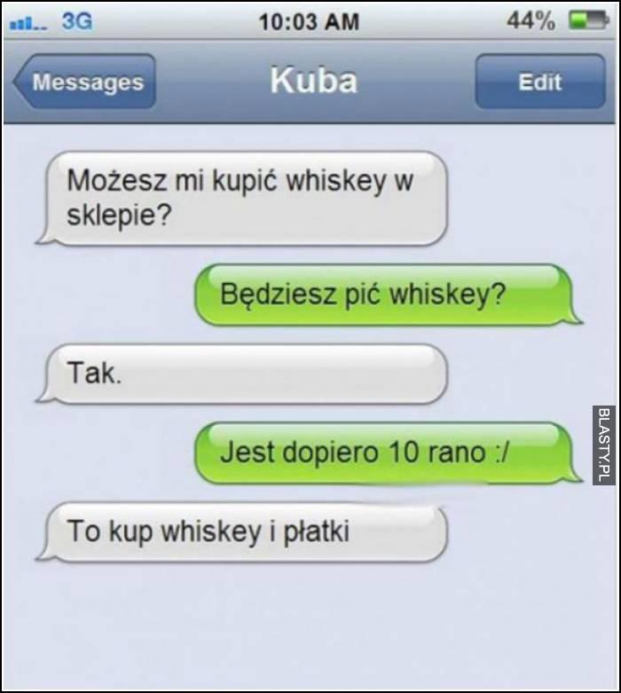 możesz kupić whiskey