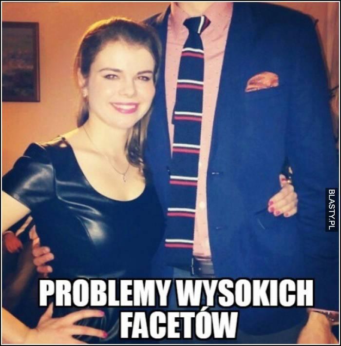 Problemy wysokich facetów