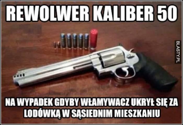 rewolwer kaliber 50 mm