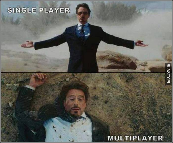 Single player vs multiplayer
