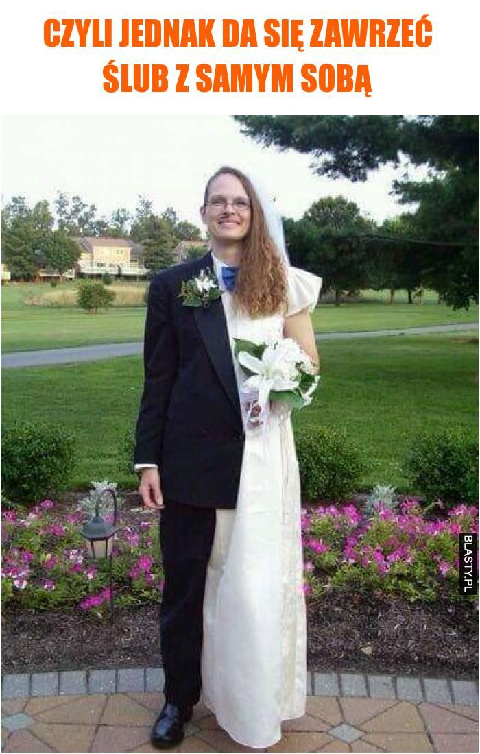 ślub sam z sobą