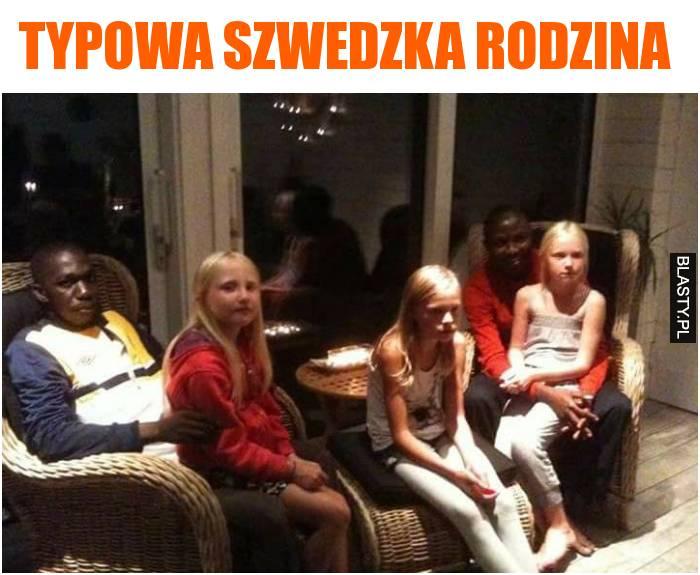 typowa szwedzka rodzina