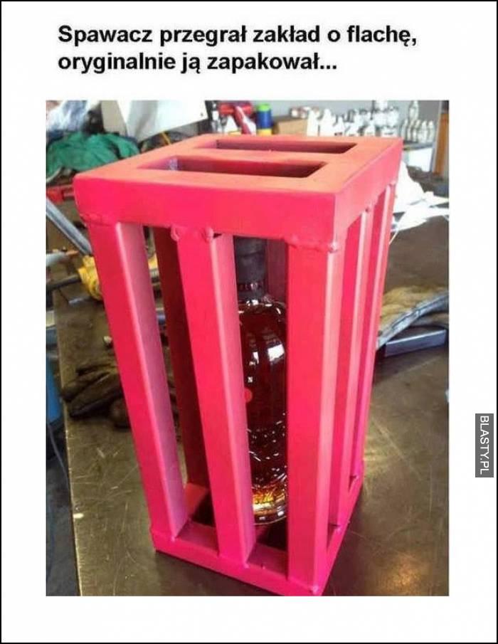 zakład o flaszkę