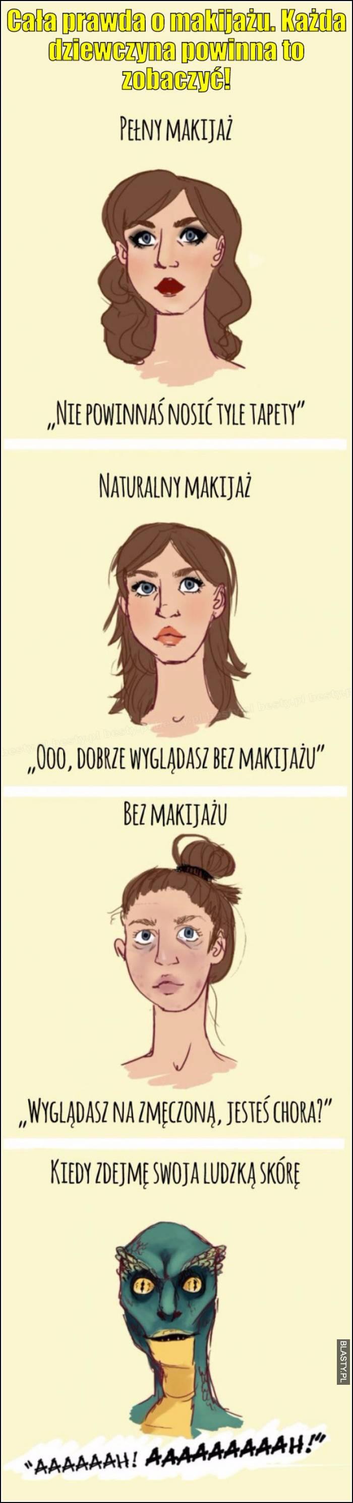 Cala prawda o makijażu