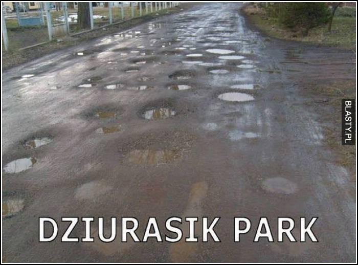 Dziurarski park