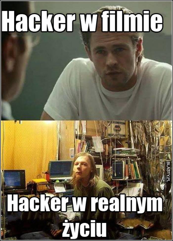 Hacker w filmie