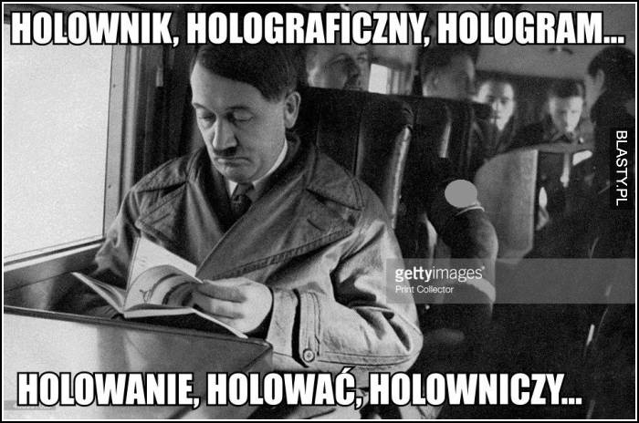holownik, holowniczy i hologram