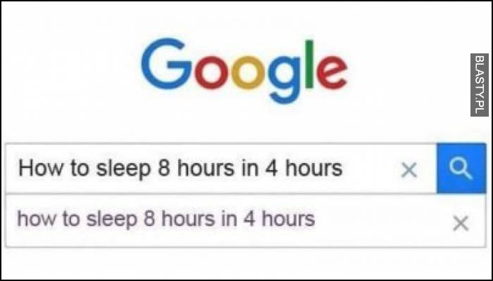 Jak spać 8h w 4 h