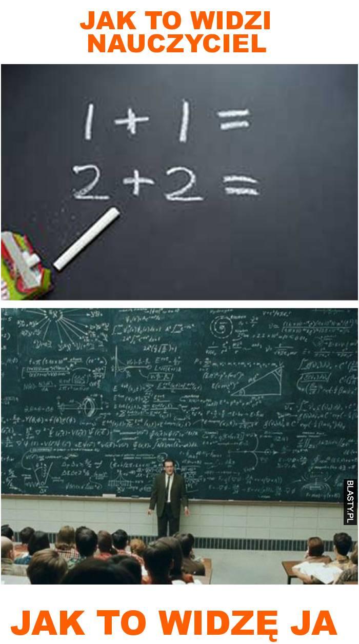 jak to widzi nauczyciel