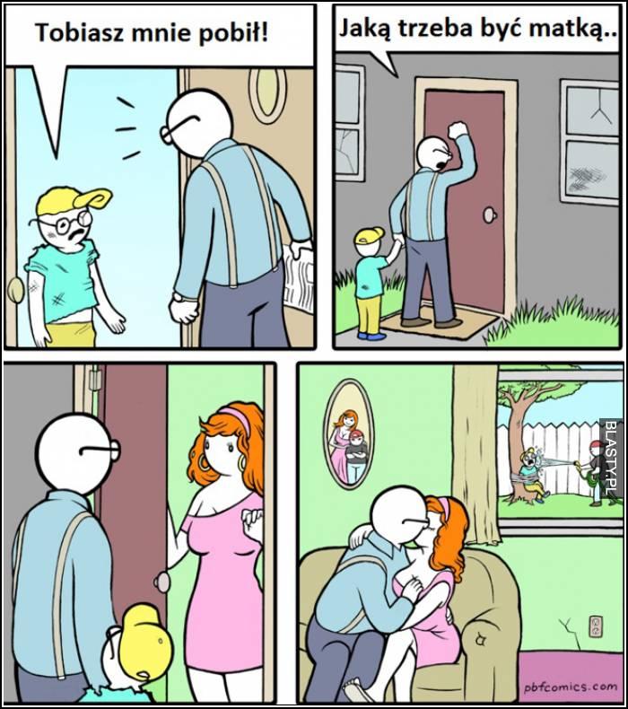 jak wyrodną matką trzeba być
