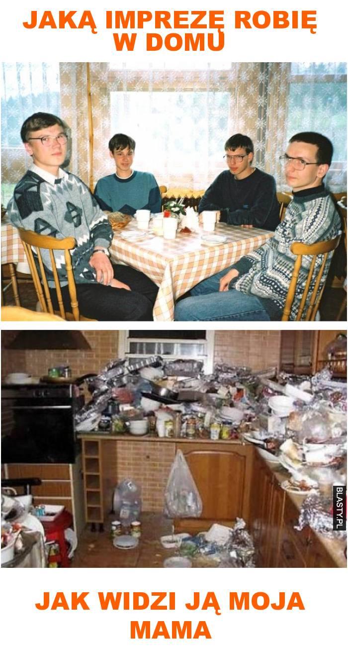 Jaką imprezę robię w domu