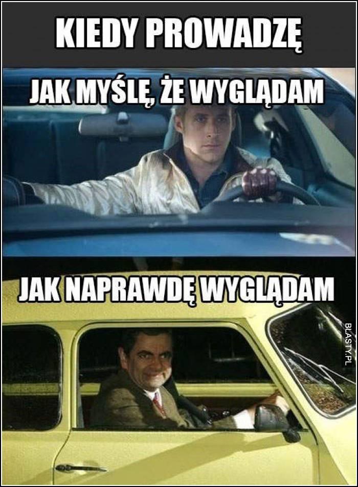 kiedy prowadzę samochód