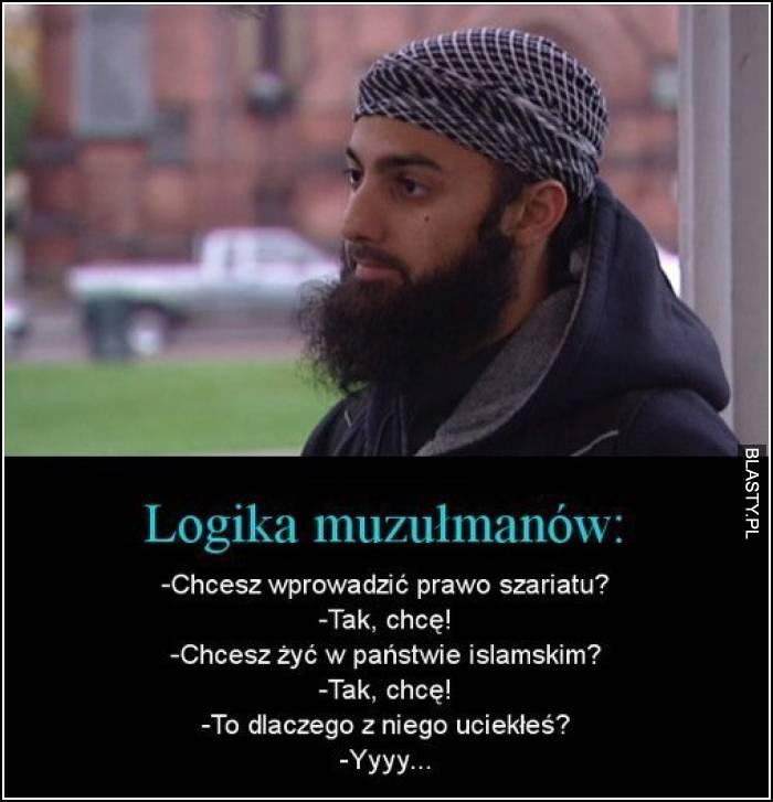 logika muzułmanów