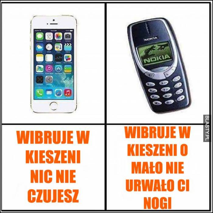 Nokia vs Iphone