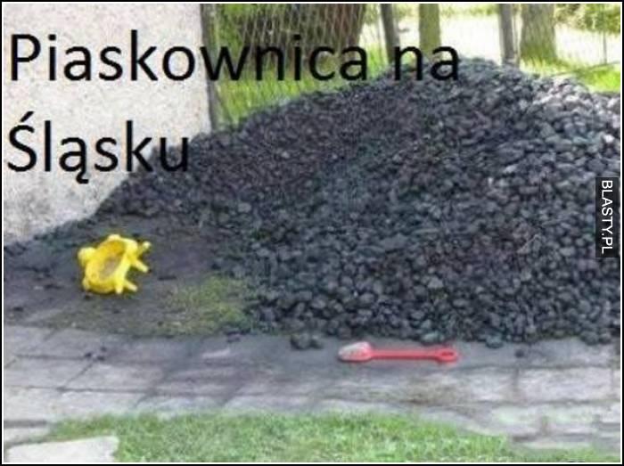 Piaskownica na śląsku