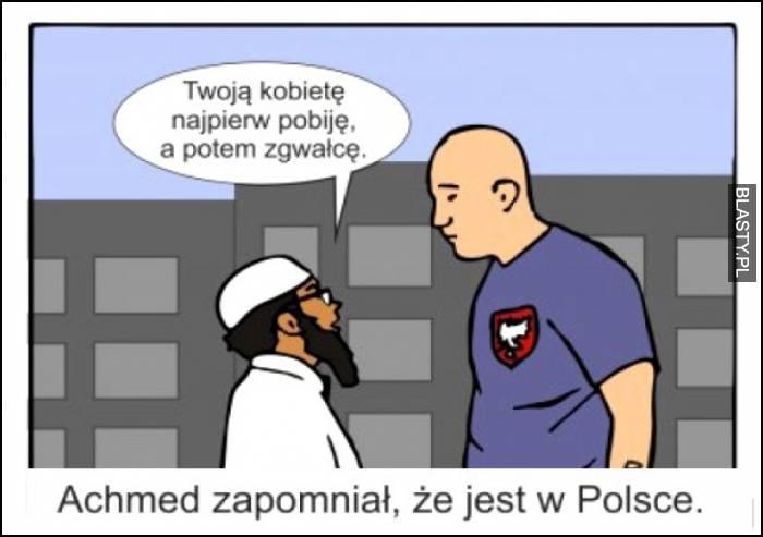 przygody ahmeda w Polsce
