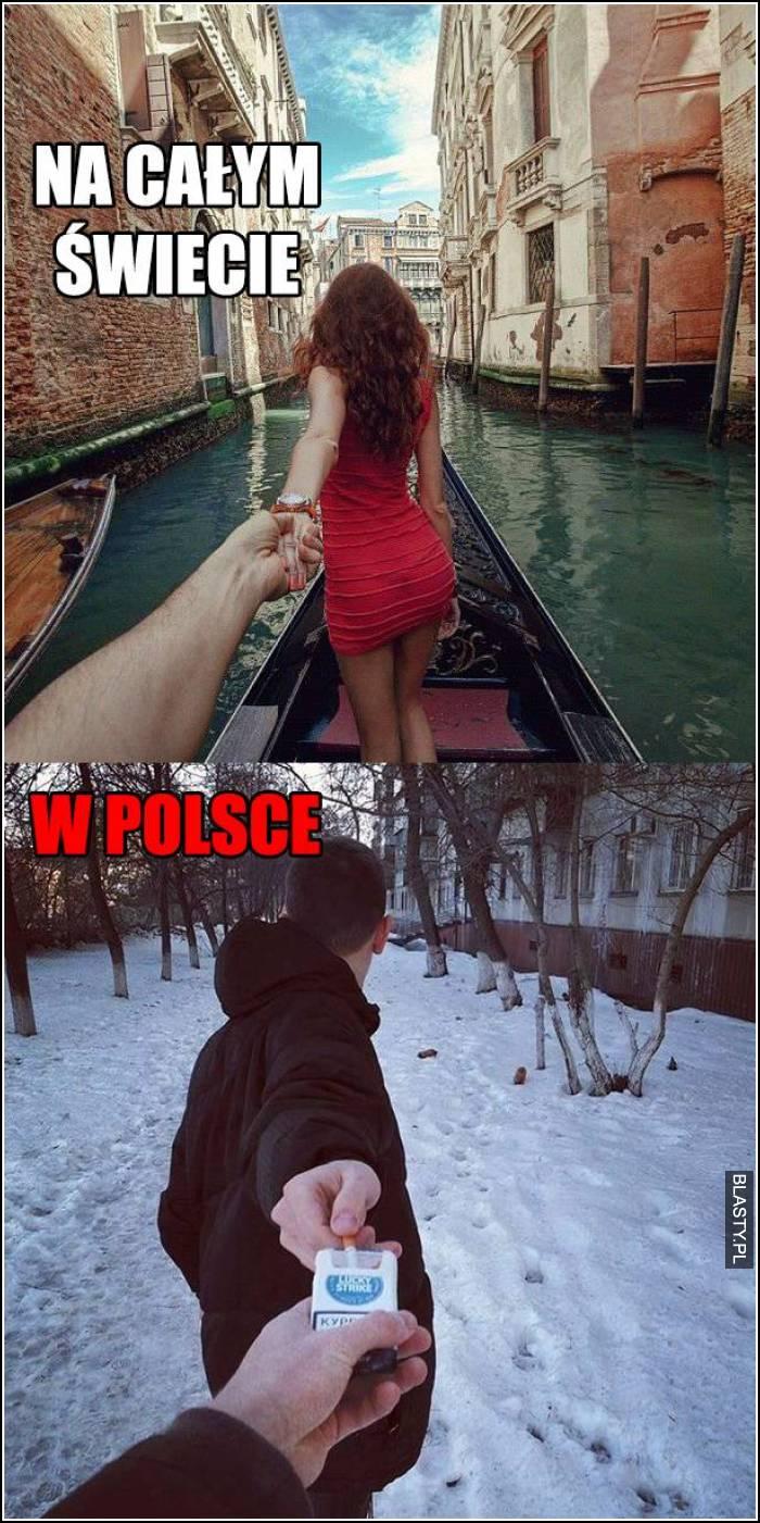 Reszta świata vs polska
