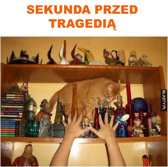 sekunda przed tragedią
