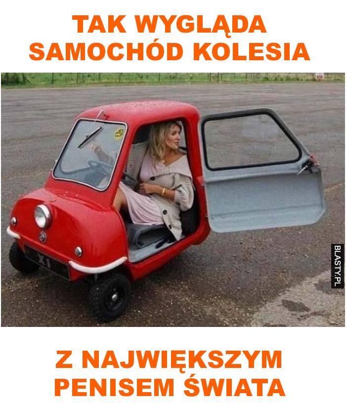 Tak wygląda samochód kolesia z największym penisem świata