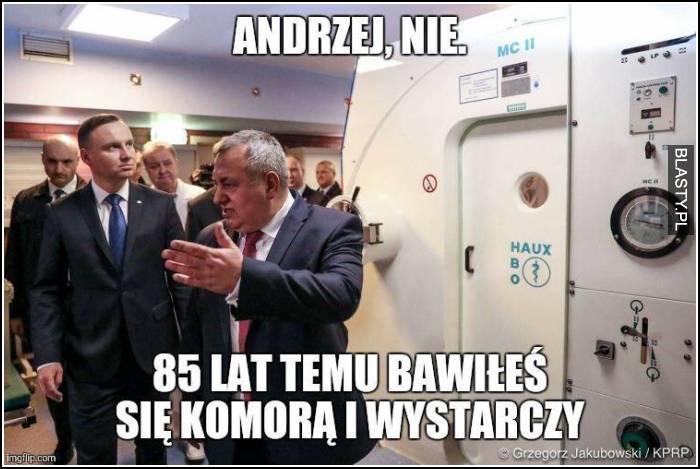 Andrzej, nie
