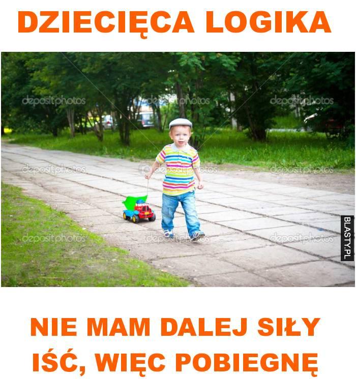 dziecięca logika