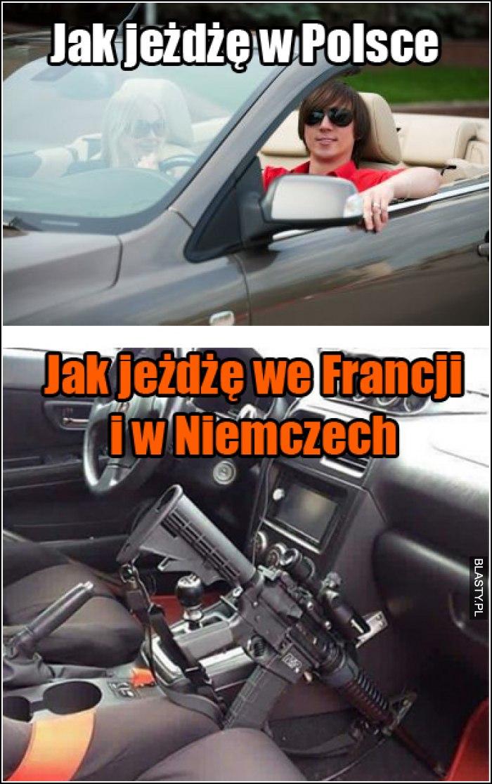 jak jeżdżę w Polsce